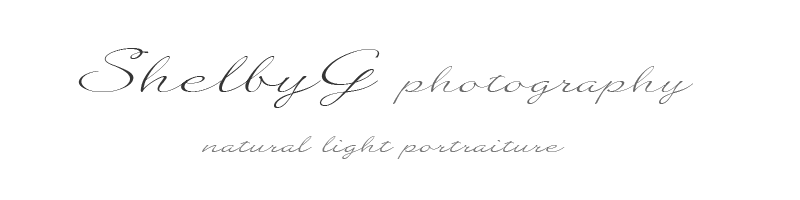 ShelbyG photography logo